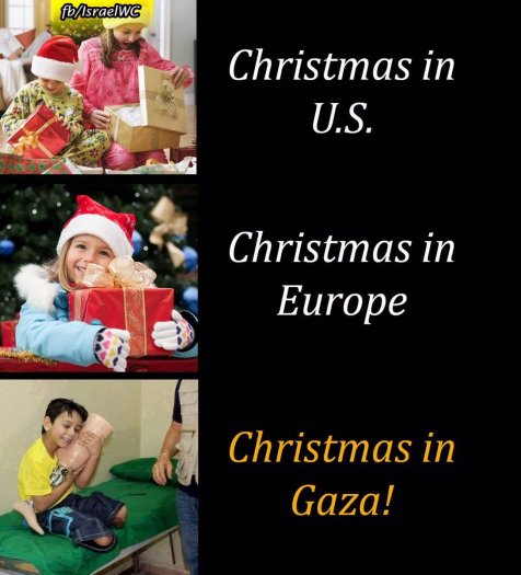 Merry Christmas world! Do you know that around 1,000 Children in Gaza were left Disabled in 2014