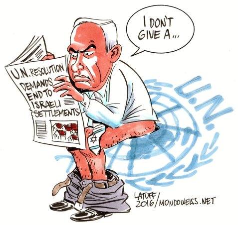 Israel responds to UNSC Resolution2334