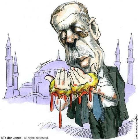 """Taylor Jones: """"Dini bütün Erdoğan"""""""