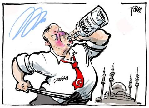 """Tom Janssen: """"Sarhoş Erdoğan"""""""