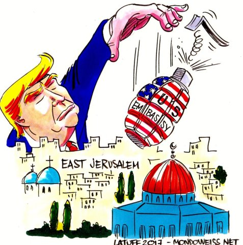 Will Trump drop da bomb in East Jerusalem?