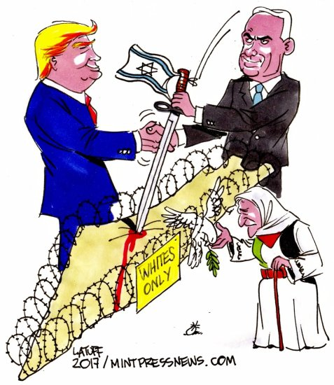 Trump and Netanyahu, officializing apartheid in Palestine