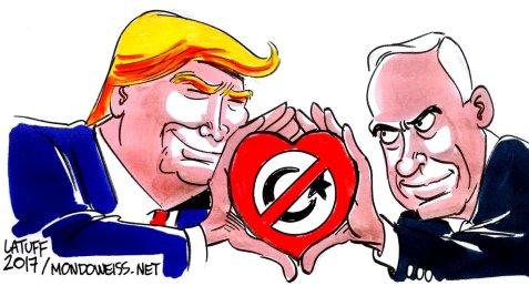 Trump and Netanyahu, a hate affair!