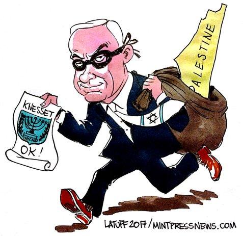 Netanyahu, the Thief of Tel Aviv
