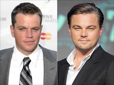 Leonardo DiCaprio (R) and Matt Damon were amongst Oscar celebrities who were offered luxury trips to Israel. (Photo: via Youtube)