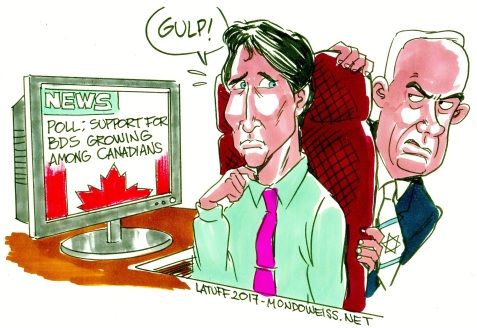 Justin Trudeau, caught between his people and the Israeli government