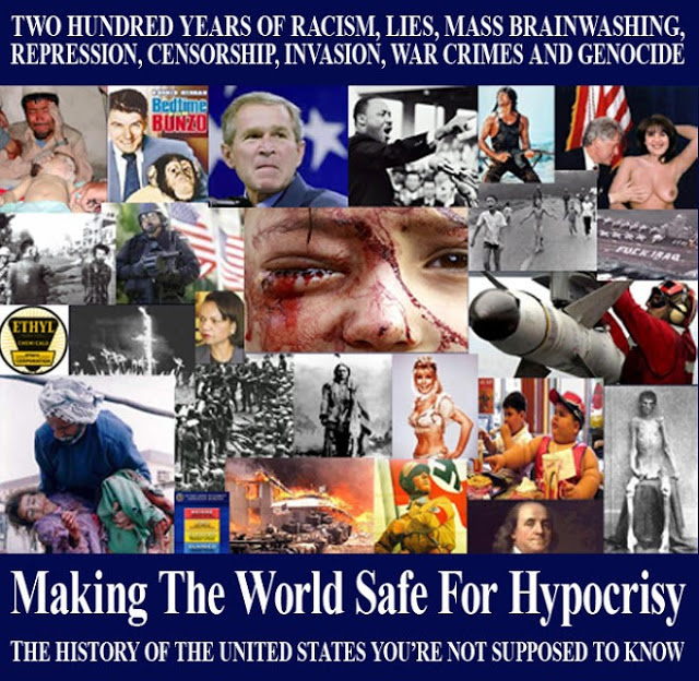 Hypocrisy 101: The Crimes Of the U.S. Government